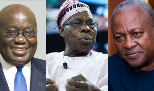 Ghana's poll: Obasanjo fires letter to Akufo-Addo, Mahama