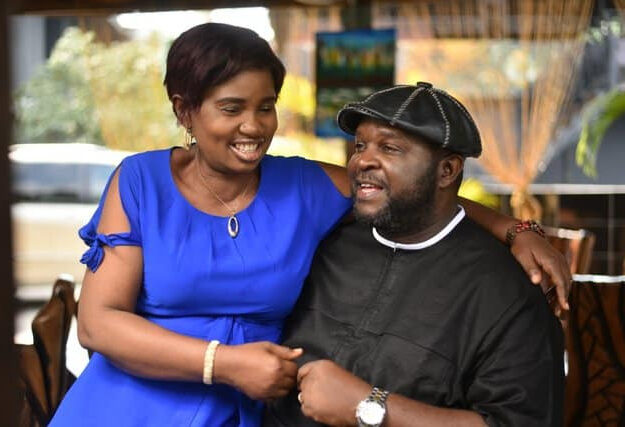 Gospel singer Buchi, marks 26th anniversary with wife
