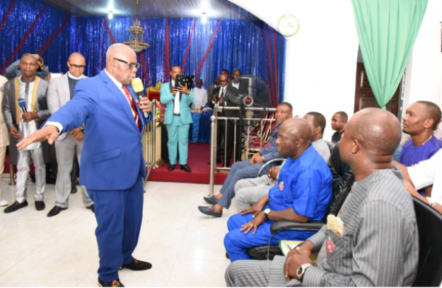 Gov. Wike father's church attacked in Port Harcourt