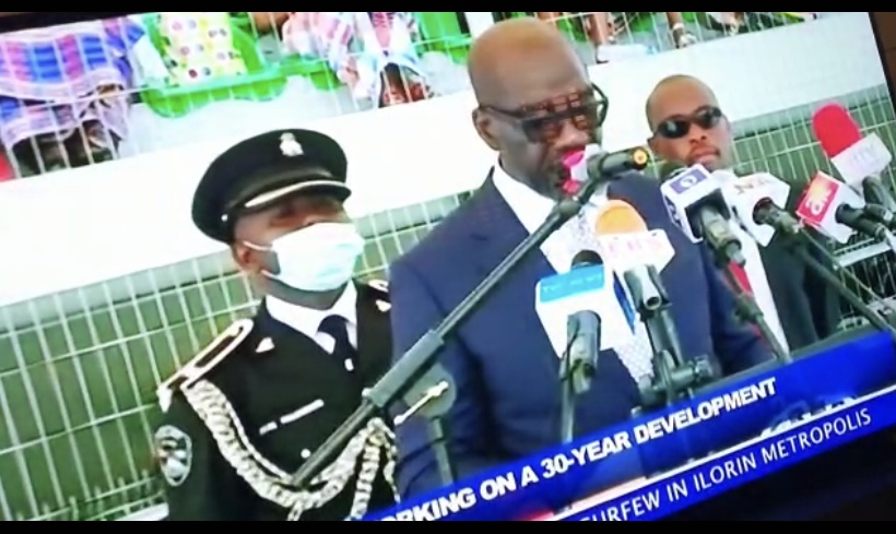 Governor Obaseki's ADC Collapses During His Inauguration Speech For Second Term [Video] 1