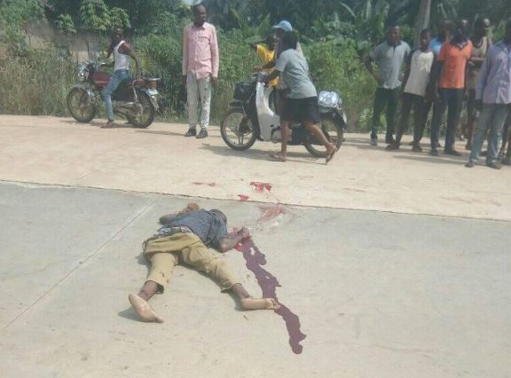 The driver and conductor were lynched in Enugu