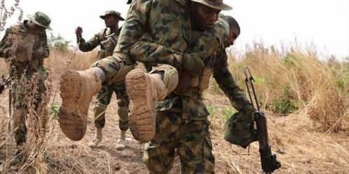 soldiers ambushed