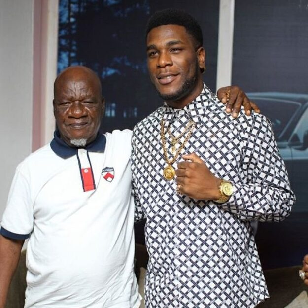 How Burna Boy's Grandfather Reacted After He Was Nominated For Grammy Awards