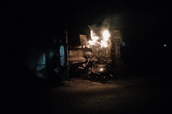 How Shops And Transformer Were Razed In Anambra Diesel Tanker Explosion