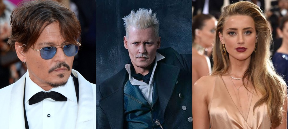 Johnny Depp Removed From 'Fantastic Beasts' Movie After 'Beating Ex-Wife, Amber Heard' 1