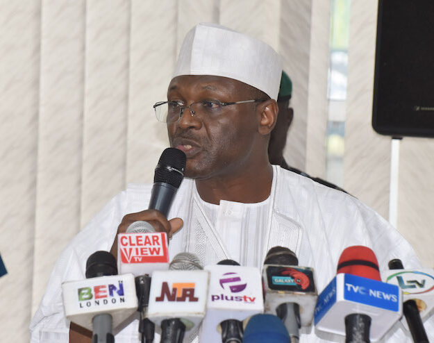 JUST IN: Senate begins process to confirm Yakubu as INEC Chairman