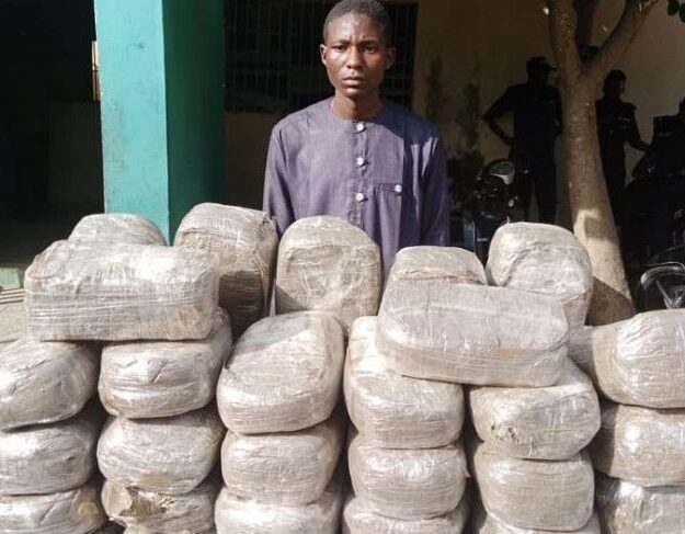 Mother And Son Nabbed With 49 Parcels Of Indian Hemp