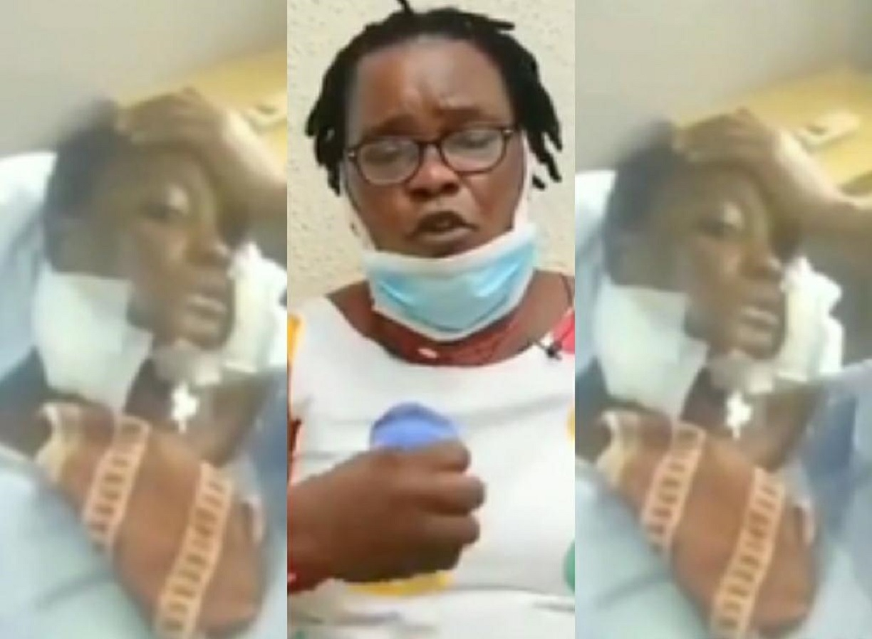 The mother of the woman shot in the mouth by her boyfriend