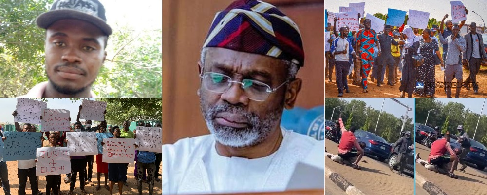 Newspaper Vendors Protest Killing Of Colleague, Ifeanyi Okereke By Gbajabiamila's Security Aide 1