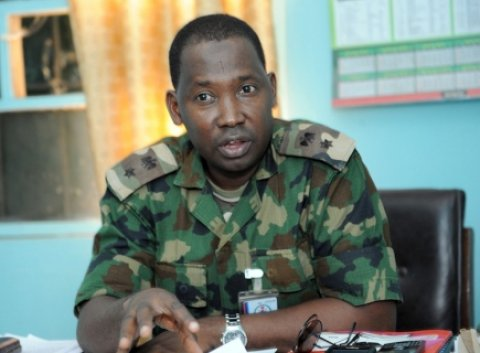 Nigerian Army promotes spokesperson, Sagir Musa and 135 other senior officers