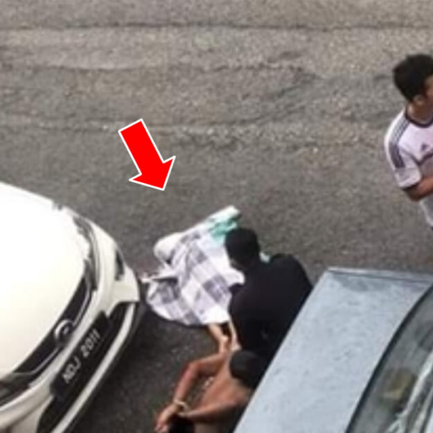 Nigerian Man Arrested In Malaysia For Allegedly Throwing Step-Grandson From A Third Floor Apartment (Graphic Photos)
