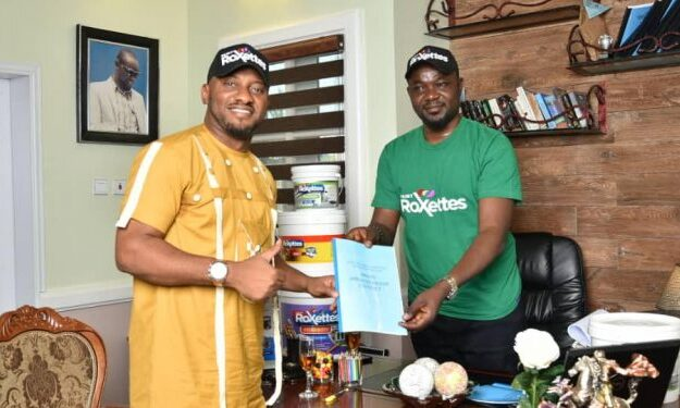 Paint Roxettes sign actor, Yul Edochie as brand ambassador