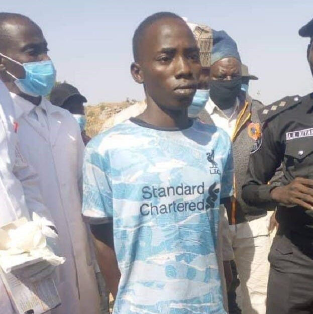 Photo Of Man Who Kidnapped And Murdered A 16-Year-Old Boy On A Farmland In Kano