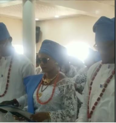 Photos And Video From The Burial Of Nigerian Actress, Iyabo Ojo's Mother In Lagos