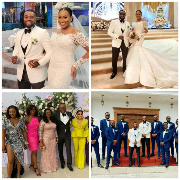 Photos Of Falz, Banky W, Rita Dominic, Ini Edo, Other Celebrities At William Uchemba's Wedding