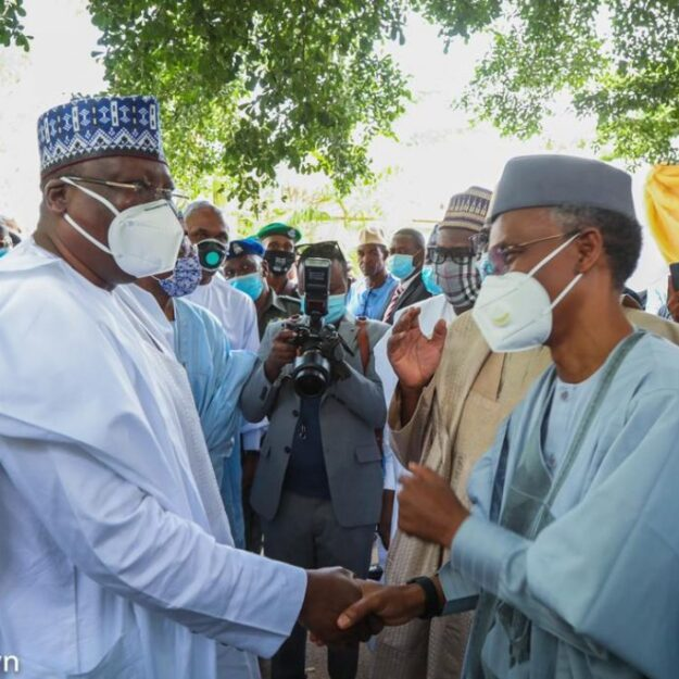 Photos Of Sanusi, Lawan, Others Gathered Together As El-Rufai's Son Weds Kazaure's Daughter