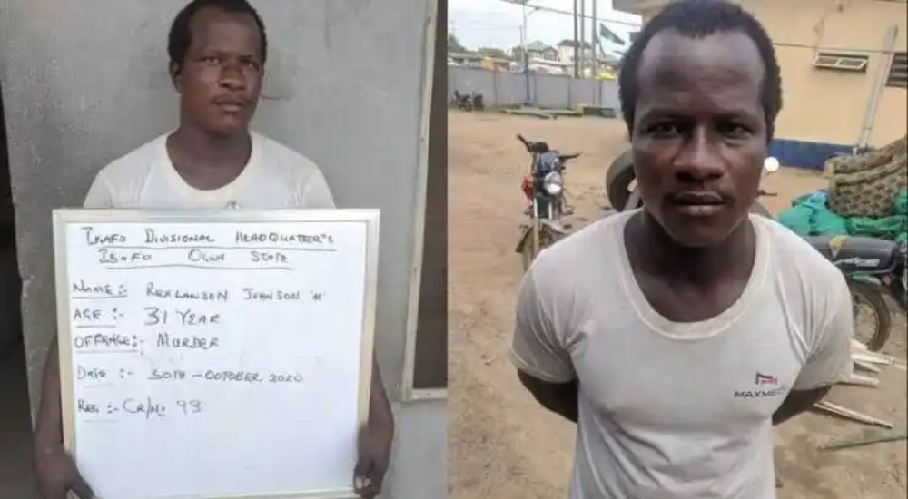 Police Arrests Man For Strangling His Girlfriend To Death Inside Hotel Room In Ogun 1