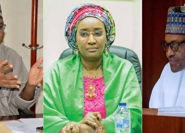 Sadiya Farouq Reportedly Weeps As Pantami 'Disgraces' Her Before Buhari At FEC Meeting
