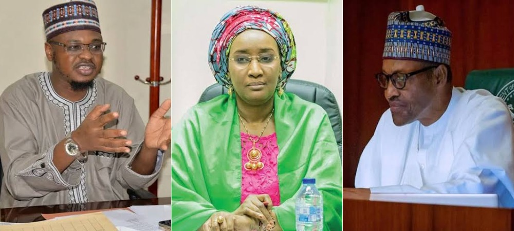 Sadiya Farouq Reportedly Weeps As Pantami 'Disgraces' Her Before Buhari At FEC Meeting 1