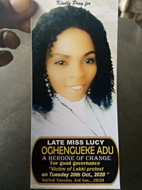 Miss Lucy Oghenegueke Adu