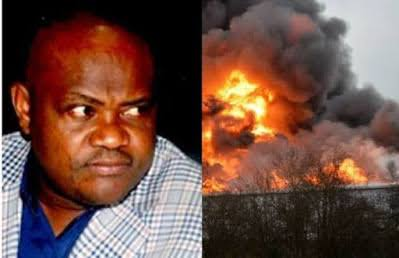 Three nabbed over attack on Wike's father's church