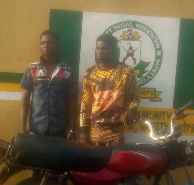 Two Ogun Suspected Armed-robbers Arrested By So-Safe Corps In Lagos