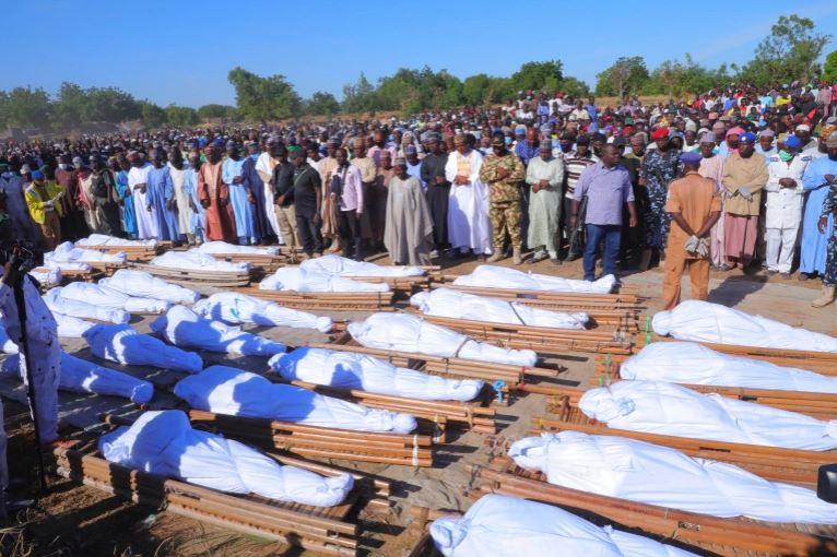 Farmers killed by Boko Haram in Borno