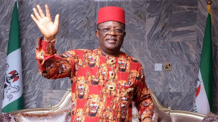 """""""We Wish You All The Best, Nigerians Will Soon Know Why You Joined APC"""" - PDP Tells Umahi 1"""