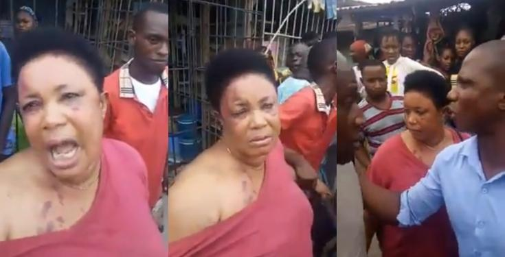 The woman reportedly returned the manhood after stealing it in Aba