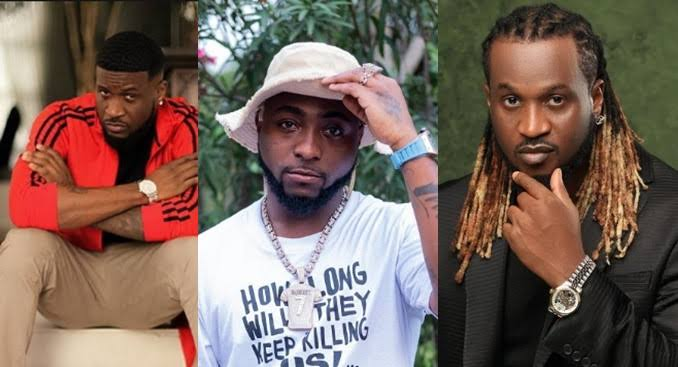 """""""Y'all Pu*sy As F*ck"""" - Davido Slams People Who Attended Psquare's Birthday Party Separately 1"""