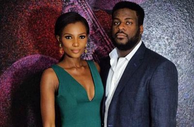 Agbani Darego welcomes 2nd son with hubby Ishaya Danjuma