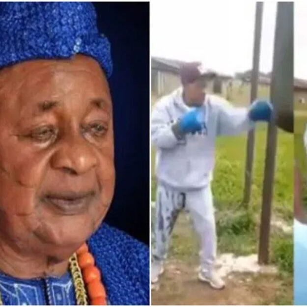 Alaafin Of Oyo Defies Old Age, Hits The Gym At 82 (Video)