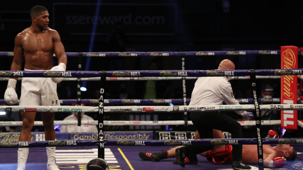 Anthony Joshua vs Pulev fight: President Buhari hails Anthony Joshua's victory over Kubrat Pulev 3