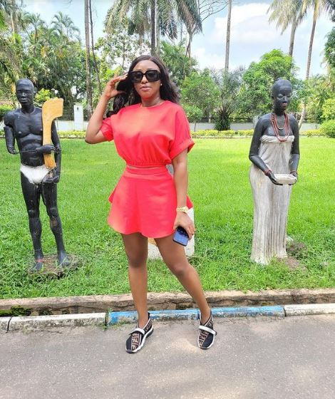 """Beautiful Mami Water"" – Fan Reacts As Ini Edo Shares New Video"