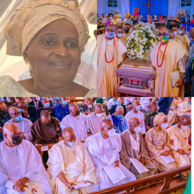 Check Out Photos From The Funeral Of Awolowo's Eldest Daughter, Tola Oyediran
