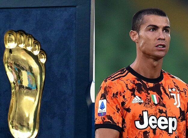 Cristiano Ronaldo Wins Golden Foot Award