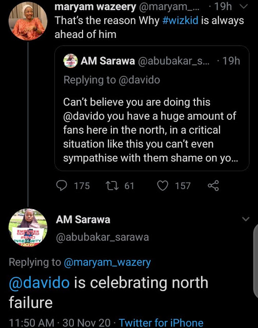 'Davido Is A Bigot' – Northern Youths Blast Davido For Ignoring Them