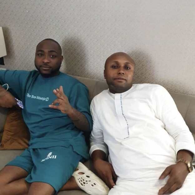Davido to serve as best man at driver's wedding