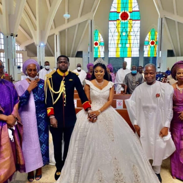 First Photos And Videos From The Wedding Of Luxury Designer, Malivelihood, And Deola Smart