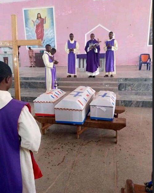 Heartbreaking!! Three Children Found Dead Inside A Car In Enugu Buried (Photos)