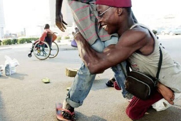 Learn to do something, don't beg, disabled persons urged
