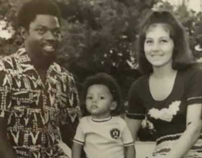 Lola Omotayo shares throwback picture of her parents