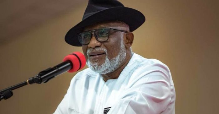 Ondo Governor, Akeredolu Calls For Restructuring Of Nigeria To Unlock Its Full Potential 1