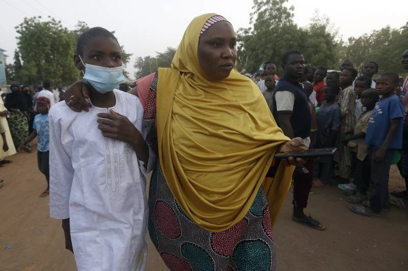 Tears Of Joy As Abducted Kankara Students Reunite With Their Parents In Katsina [Photos] 5