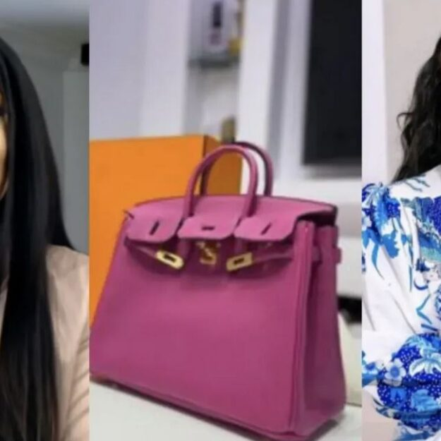 Toke Makinwa Drags Trolls Attacking Lilian Afegbai Over Her $22,000 Hermes Birkin Bag