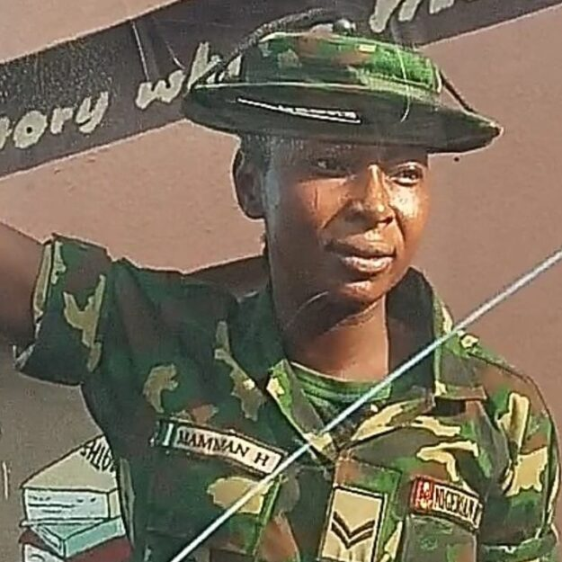 Video: Female soldier beats up physically challenged man in Ibadan