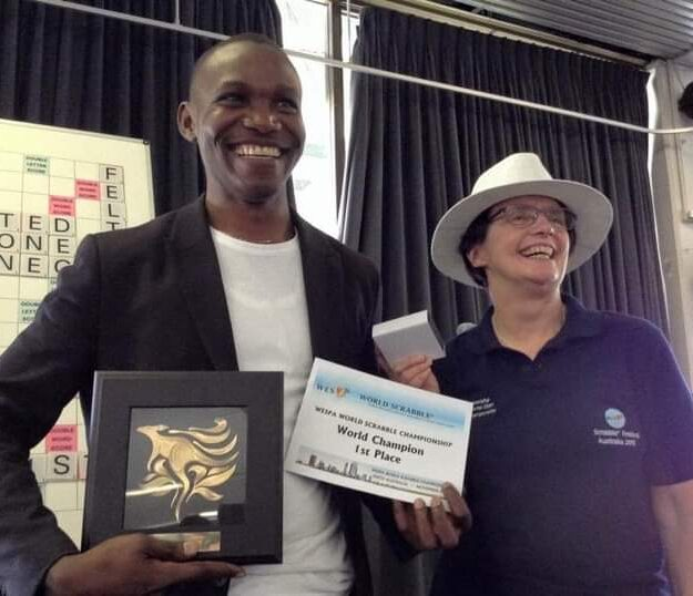 Wellington Jighere, world scrabble champion quits over unpaid prizes