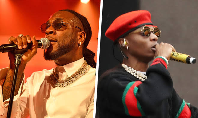 """Wizkid, Burna Boy Wins """"Best African Act"""" And """"Best International Act"""" At MOBO Awards 1"""