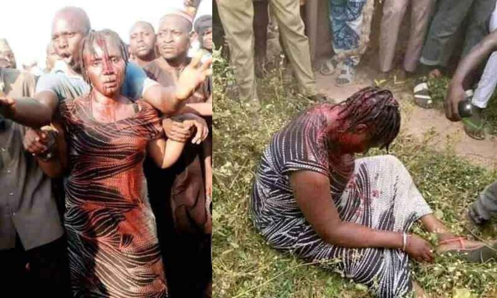 Woman Beaten Mercilessly By Angry Mob For Allegedly Kidnapping Children In Nasarawa 1