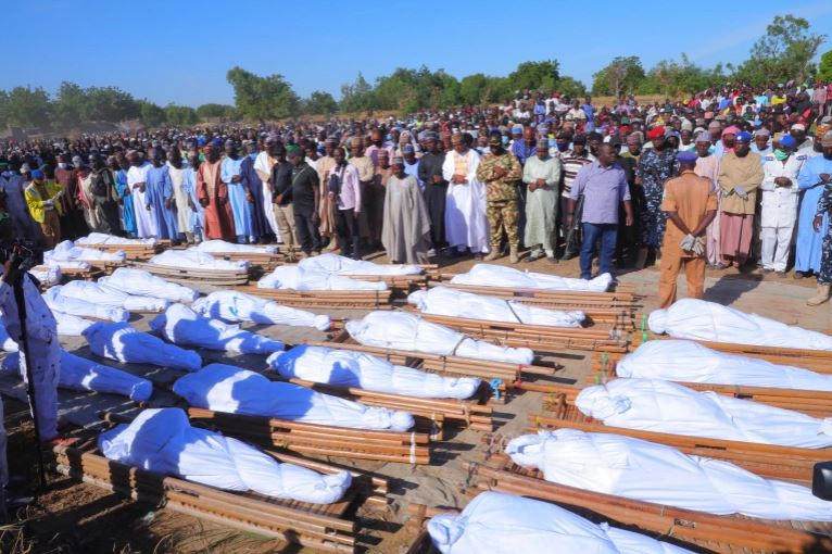 Rice farmers slaughtered in Borno